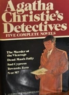 Agatha Christie's Detectives Five Complete Novels The Murder at the Vicarage / Dead Man's Folly / Sad Cypress / Towards Zero / N or M?(Hardcover) 도서관 소장되었던 책이어서 종이커버상태 매우 낡음 / 측면변색매우심함 / 속지에 약간의 낙서및 Discarded 스템프 도장 찍힘 / 본문에 낙서는 없음