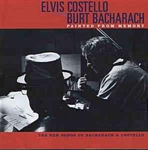 Elvis Costello With Burt Bacharach ?? Painted From
