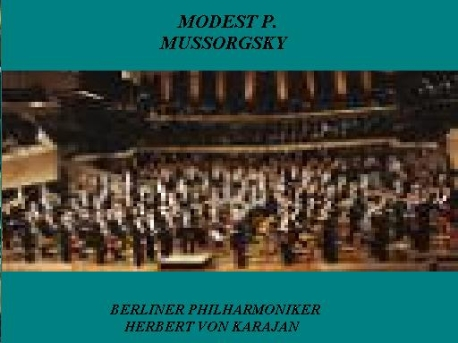 MODEST P. MUSSORGSKY AND J. MAURICE RABEL