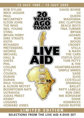Live Aid 20 Years Ago Today - Selections From the Four Disc Set [1DVD][미국반][무료배송]