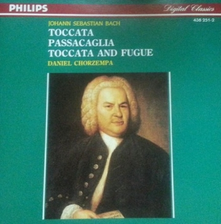 Johann Sebastian Bach - Toccata - Passacaglia - Toccata And Fugue - Daniel Chorzempa