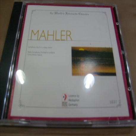 [수입 CD] Gustav Mahler - 1037