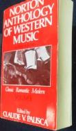 Norton Anthology of Western Music: Volume 2: /사진의 제품  ☞ 서고위치:XH 7