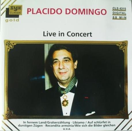 [수입] 도밍고 : PLACIDO DOMINGO - Live in Concert