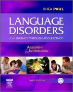 LANGUAGE DISORDERS FROM INFANCY THROUGH ADOLESCENCE  (3판)  (CD 포함)