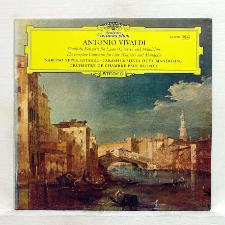 Antonio Vivaldi :Concertos for Guitare & for Mandolines  ///LP1