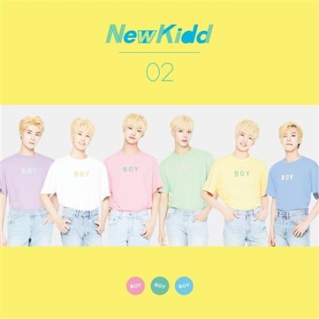 뉴키드02 - 프리뷰 2집 Boy Boy Boy (홍보용 음반)