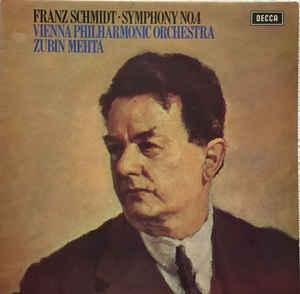 [수입][LP] Zubin Mehta - Franz Schmidt : Symphony No. 4