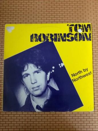 [중고/POP] TOM ROBINSON, NORTH BY NORTHWEST, 1982, LP, EX+(A)
