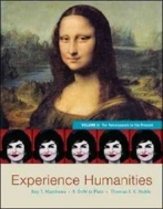 Experience Humanities, Volume II: The Renaissance to the Present (Paperback, 8)
