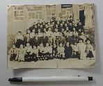 1958년 분당국민학교 제3회 졸업기념 흑백사진 1장 (경기도 성남시 분당구 서현동)