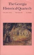 THE GEORGIA HISTORICAL QUARTERLY Volume LXXIX (1995 겨울 4호)