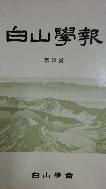 백산학보 제35호 초판(1988년)