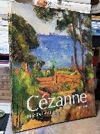 Cezanne -세잔 외국서적- PAUL CEZANNE 1839 - 1906 - 사이즈 240/300/18 큰책- -초판-절판된 귀한책-아래사진참조-