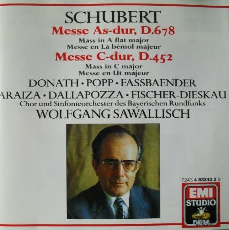 [수입] 슈베르트 : Mass in A flat major D,678/ Mass in C major, D.452