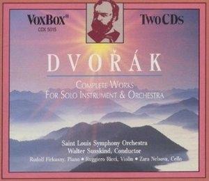 Walter Susskind, Ruggiero Ricci, Rudolf Firkusny, Zara Nelsova / Dvorak : Work For Solo Instrument & Orchestra (2CD/수입/CDX5015)