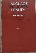 Language, Thought, and Reality: Selected Writings of Benjamin Lee Whorf 원어