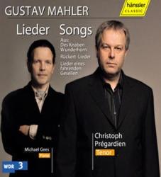 [미개봉] Christoph Pregardien / 말러 : 가곡집 (Mahler : Lieder) (미개봉/SSM07102)
