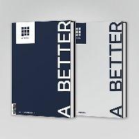 [미개봉] 드리핀 (Drippin) / A Better Tomorrow (2n)d Mini Album) (A Ver./B Ver. 중 랜던 발송