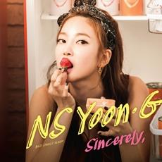 NS 윤지 - 싱글 3집 Sincerely, [디지팩에 사용감 약간]