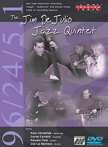 the jim de julio jazz quinet (DVD - AUDIO)