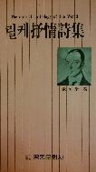 릴케서정시집(抒情詩集) 초판(1987년)