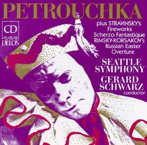 Gerard Schwarz / Stravinsky : Petrouchka & Rimsky-Korsakov: Russian Easter Overture (수입/DCD3054)