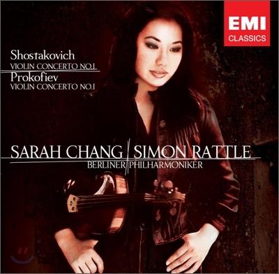 [수입] 쇼스타코비치 : 바이올린 협주곡 1번 & 프로코피에프 : 바이올린 소나타 1번 Shostakovich : Violin Concerto No.1 & Prokofiev : Violin Concerto No.1