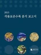 2013 작품보존수복 분석 보고서