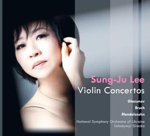 [미개봉] 이성주 (Sung-Ju Lee) / 글라주노프, 브루흐 & 멘델스존 : 바이올린 협주곡 (Sung-Ju Lee Plays Violin Concerto) (Digipack/미개봉/DU8630)