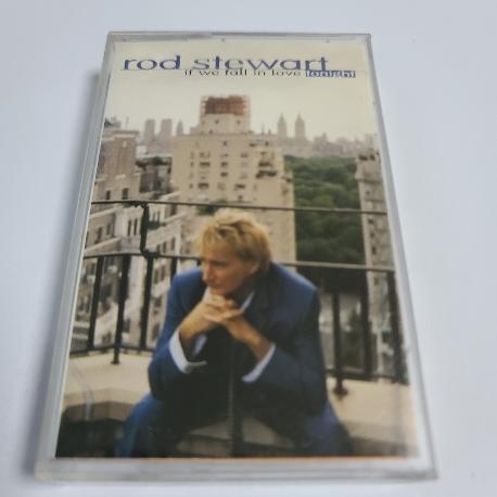 (중고Tape) Rod stewart - If we fall in love tonight