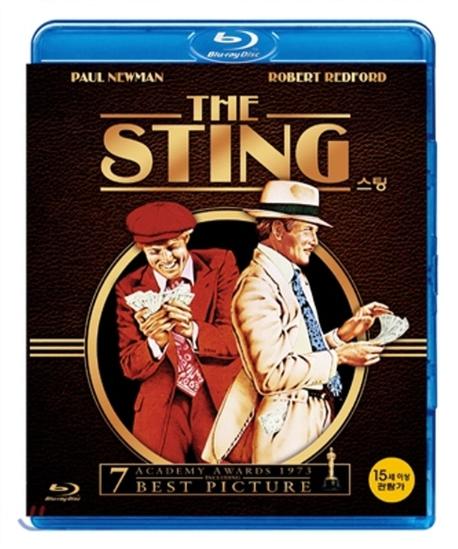 [블루레이] 스팅 - The sting (1disc) 미개봉새제품,1디스크구성,본편129분+부가 90분