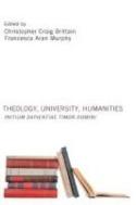 Theology, University, Humanities : Initium Sapientiae Timor Domini (paperback)