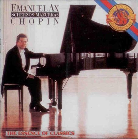 Chopin/Scherzos And Mazurkas/Emanuel AX