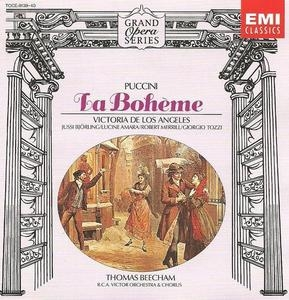 Jussi Bjorling, Victoria De Los Angeles, Thomas Beecham / 푸치니 : 라 보엠 (Puccini : La Boheme) (2CD/일본수입/TOCE913940)