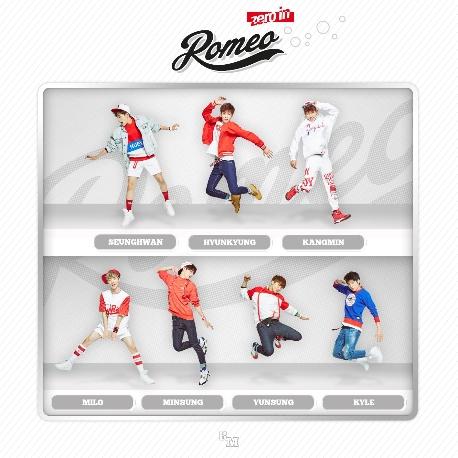 로미오 (Romeo) - Zero In (2ND EP)  [홍보용 음반, 친필싸인, 겉 케이스에 사용감 있음]