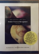 Modern Financial Management (International Edition) Edition: Eighth #