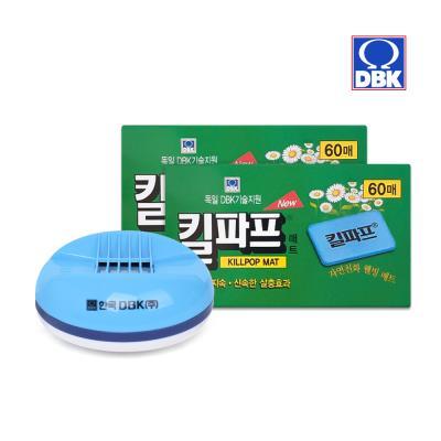[킬파프]매트 코드롤러 전기훈증기+리필 120매