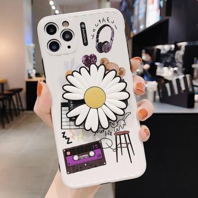 아이폰se2 11pro max xs xr 국화꽃 그립톡 범퍼케이스