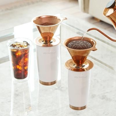 [빈플러스] 홈카페 커피 드리퍼 핸드드립 세트