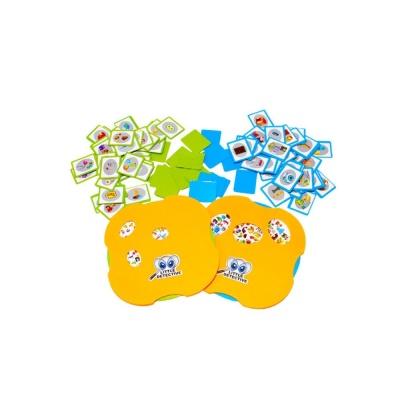 어린이 아동 놀이 학습 보드 게임 리틀 패턴 탐정가