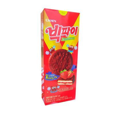 크라운 빅파이 딸기 (소) 72g