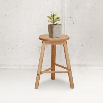 에코상사 원목 450 스툴 인테리어 의자