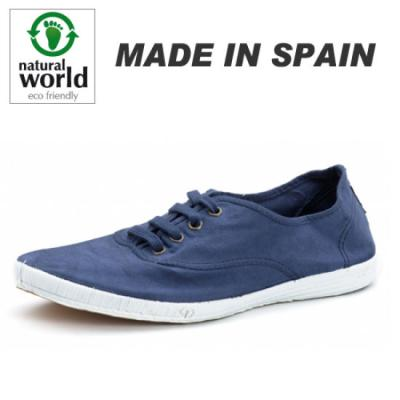 [Natural World]302_548 Azul Made in SPAIN 남성용 에코스니커즈