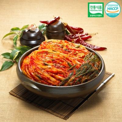 [명가김치] 전통식품인증 100% 국내산 포기김치 10kg