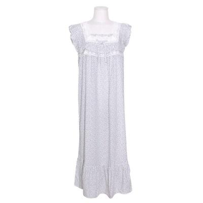 [쿠비카]소매 바스트 일체 프릴 원피스 여성잠옷 W792