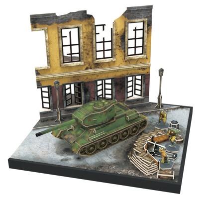 큐빅펀 3D퍼즐 소비에트 T-34/55전차
