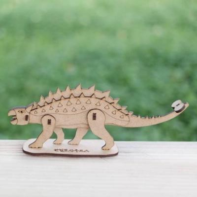 3D입체퍼즐 나무퍼즐 안킬로사우루스 공룡 만들기 수업 놀이키트 장난감 집콕놀이 취미