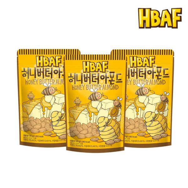 허니버터 아몬드 210g_3봉
