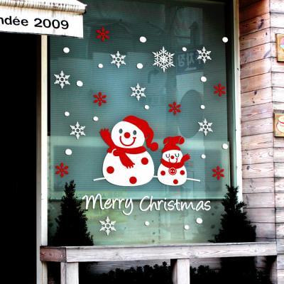 제제데코 크리스마스 눈꽃 스티커 장식 CMS4J023